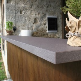 outdoor kitchen lapitec sintered stone Attica Perth